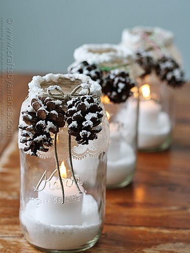 snowy-pinecone-candle-jars-in-a-row-lgn